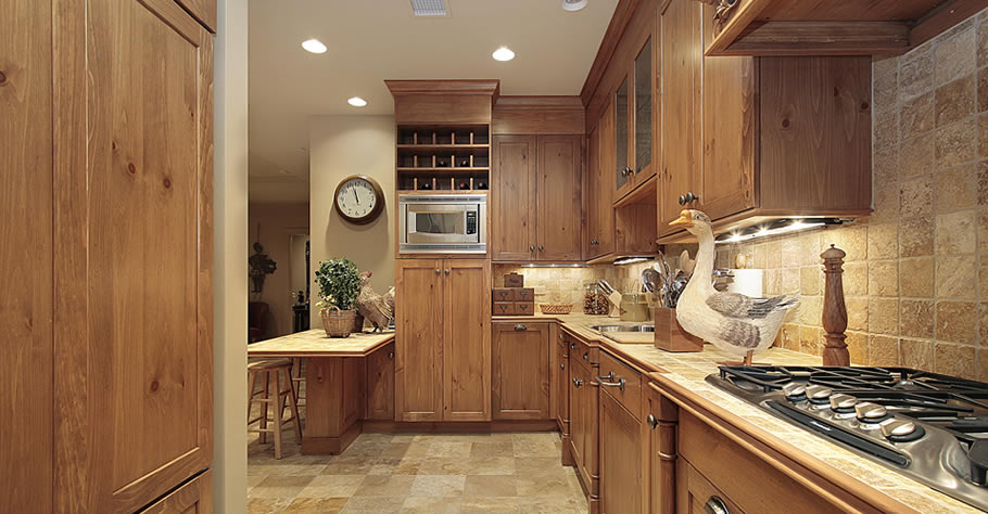 Handmade Pine Farmhouse Kitchen with a Proud Spindle and Traditional Waxed Pine Finish.